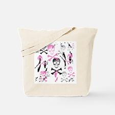 PIRATE GRUNGE Tote Bag