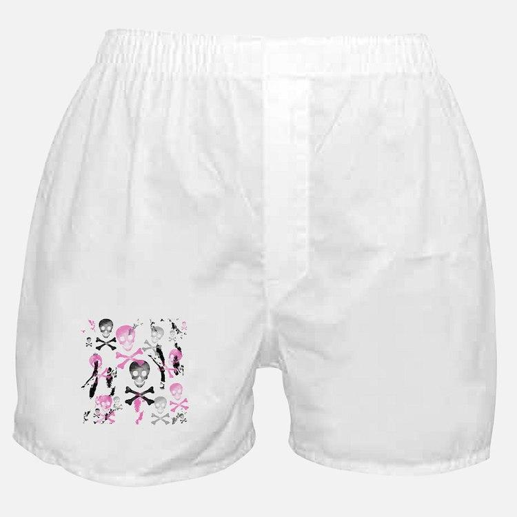 PIRATE GRUNGE Boxer Shorts