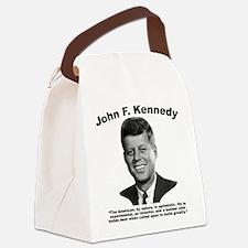 JFK Build Canvas Lunch Bag