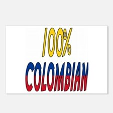 100% Colombian Postcards (Package of 8)
