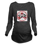 Janet Fleet Long Sleeve Maternity T-Shirt