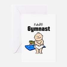 Future Pommel Gymnast Baby Cards (Pk of 10)