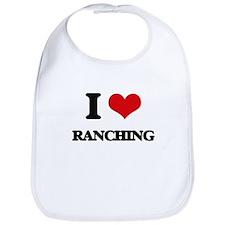 I Love Ranching Bib