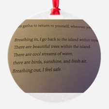Breathe Ornament