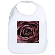 Decorative Red Rose Floral Bib