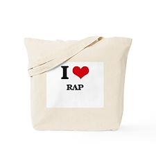 I Love Rap Tote Bag