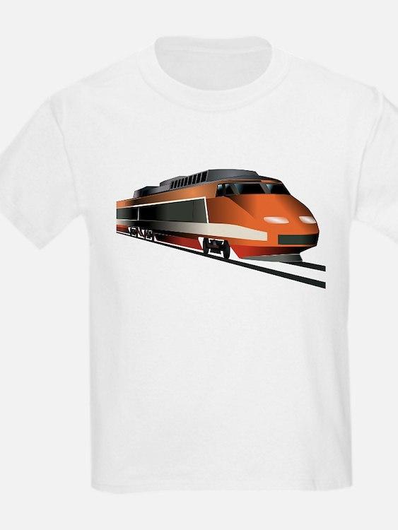 Cute Orange train T-Shirt