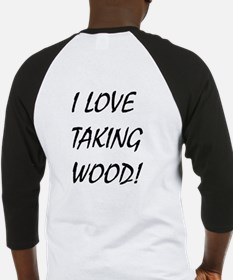 Taking Wood Baseball Jersey