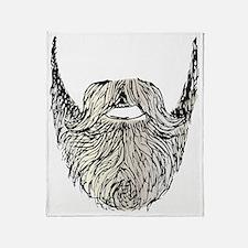beard Throw Blanket