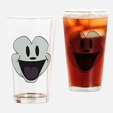 face cartoon Drinking Glass