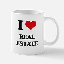I Love Real Estate Mugs