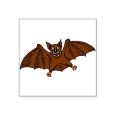 Brown Bat Sticker