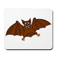 Brown Bat Mousepad
