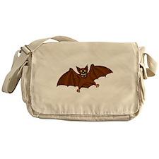 Brown Bat Messenger Bag