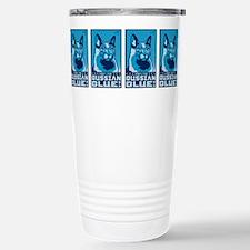 Cute Russian blue Travel Mug