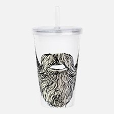 beard Acrylic Double-wall Tumbler