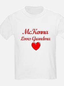 Mckenna Loves Grandma T-Shirt