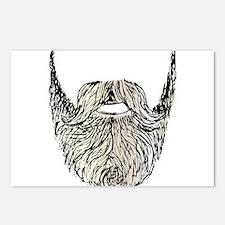 beard Postcards (Package of 8)