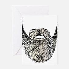 beard Greeting Cards