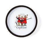 Groklaw I'm pj Wall Clock