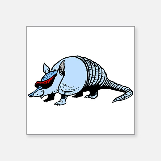 Cool Armadillo Sticker