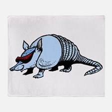 Cool Armadillo Throw Blanket