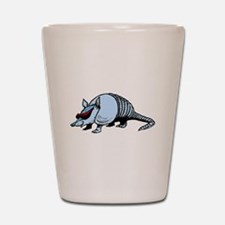 Cool Armadillo Shot Glass