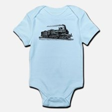 VINTAGE TRAINS Onesie