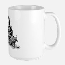 VINTAGE TRAINS Large Mug