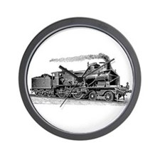 VINTAGE TRAINS Wall Clock