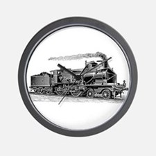 VINTAGE TRAINS Wall Clock