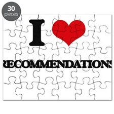 I Love Recommendations Puzzle