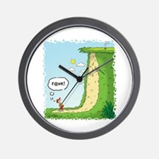 The Sand Trap From Hell Wall Clock