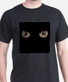 Eyes Peering in the T-Shirt