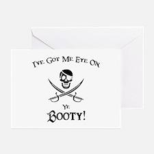 Eye On Ye Booty Greeting Cards (Pk of 10)