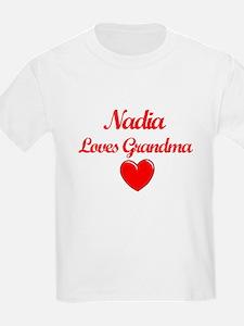 Nadia Loves Grandma T-Shirt