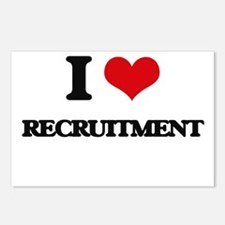 I Love Recruitment Postcards (Package of 8)