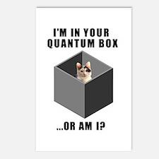 Quantum Cat Postcards (Package of 8)