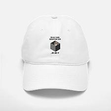 Quantum Cat Baseball Baseball Cap