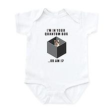 Quantum Cat Infant Bodysuit