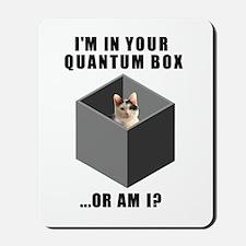 Quantum Cat Mousepad