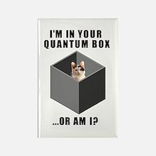 Quantum Cat Rectangle Magnet