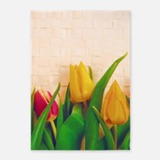 Tulip Spring 5'x7'Area Rug