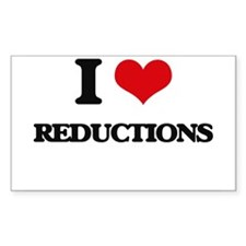 I Love Reductions Decal