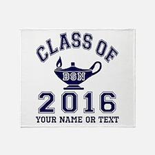 Class Of 2016 BSN Throw Blanket
