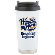 Unique Broadcasting Travel Mug