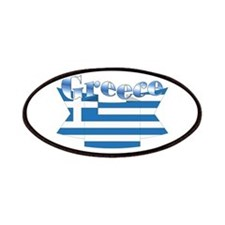 Greece Flag Ribbon Patches
