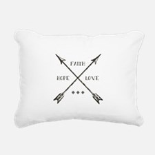 Cute Faith love Rectangular Canvas Pillow