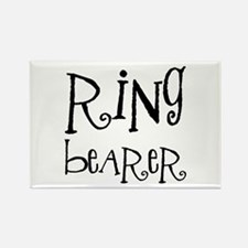 Ring Bearer Rectangle Magnet