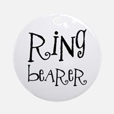 Ring Bearer Ornament (Round)